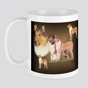 Rough and Smooth Collie Gifts Mug